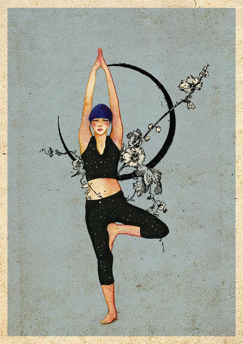 Yoga Árbol