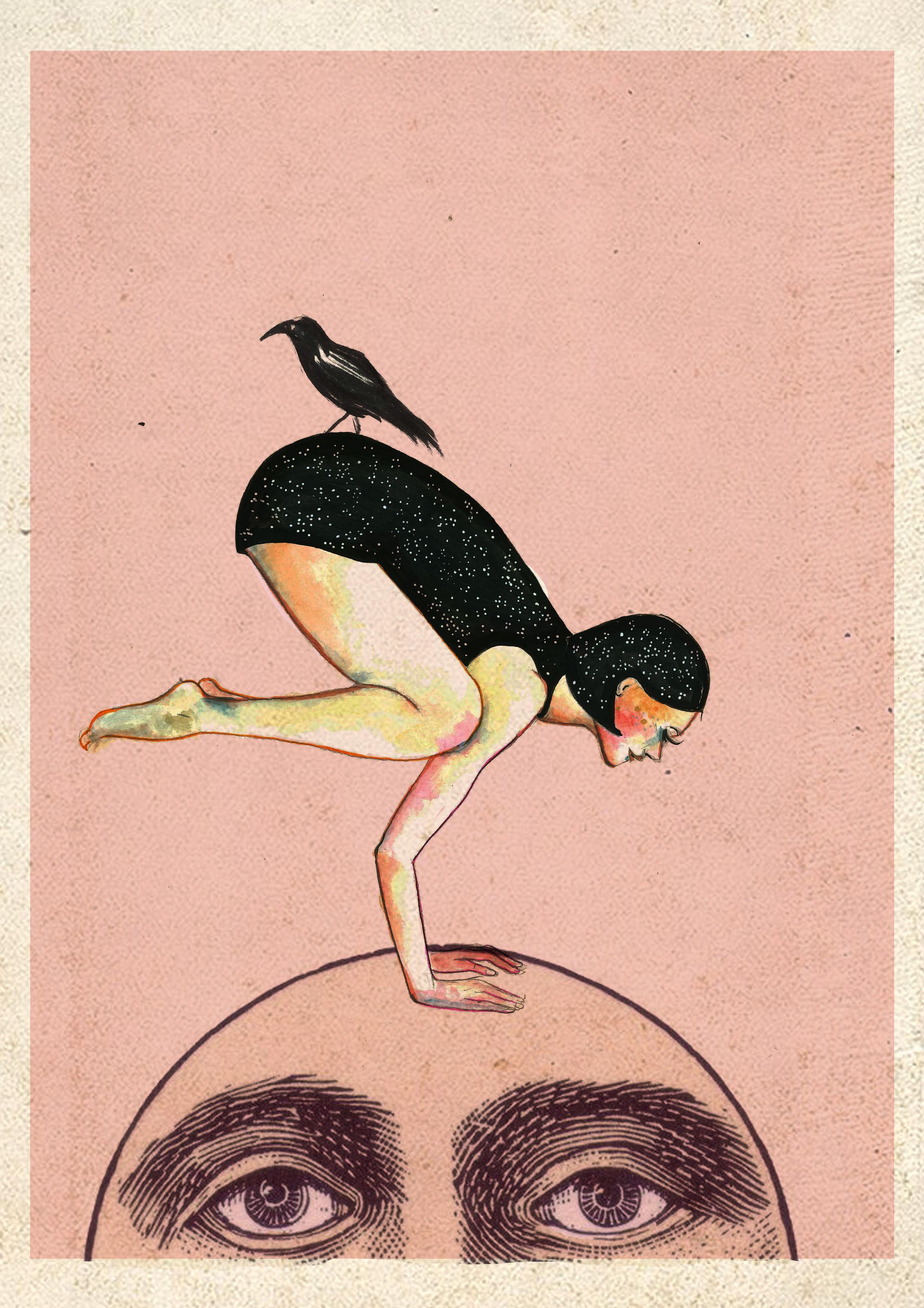 ilustracion_yoga_cuervo