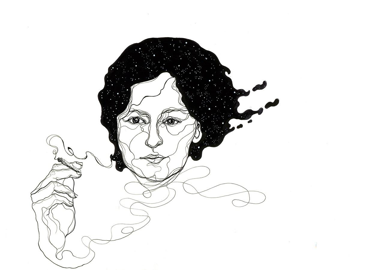 ilustracion_alejandra_pizarnik