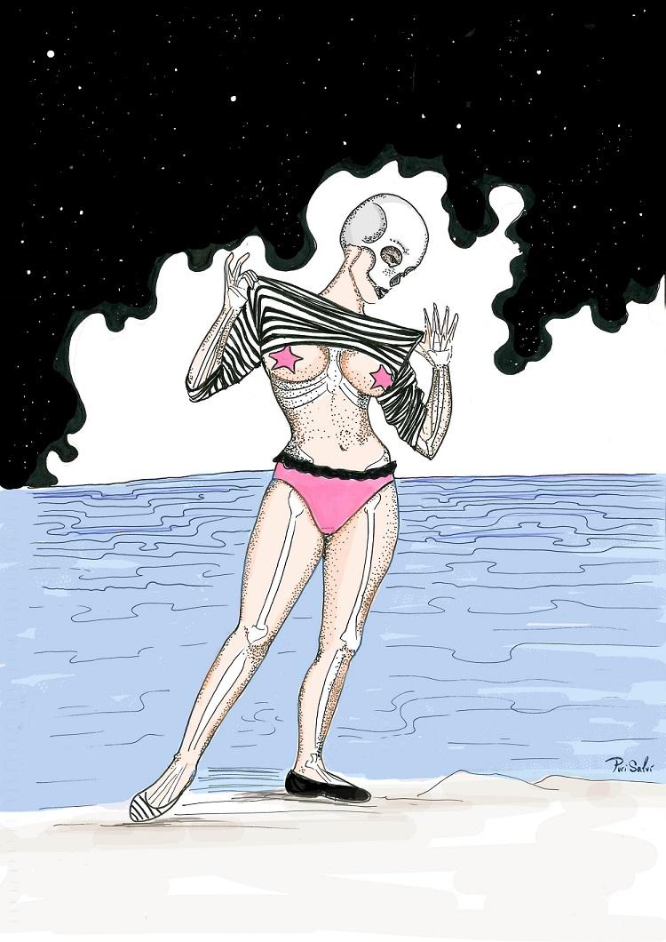 Esqueleto Playa