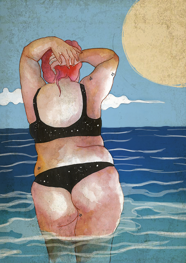 Mujer verano