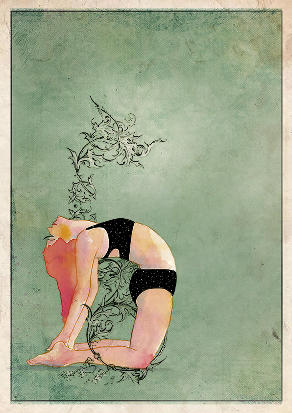 Yoga camello