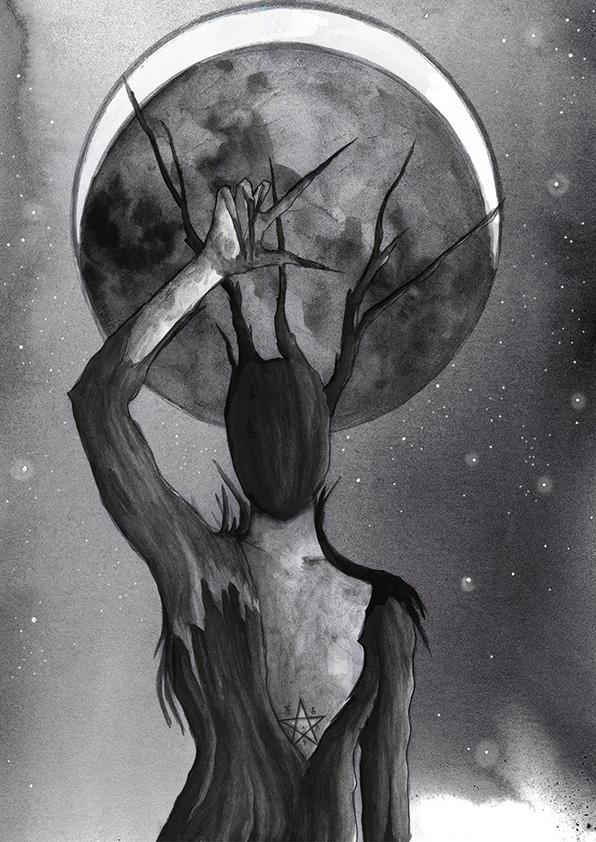 Esotérica luna