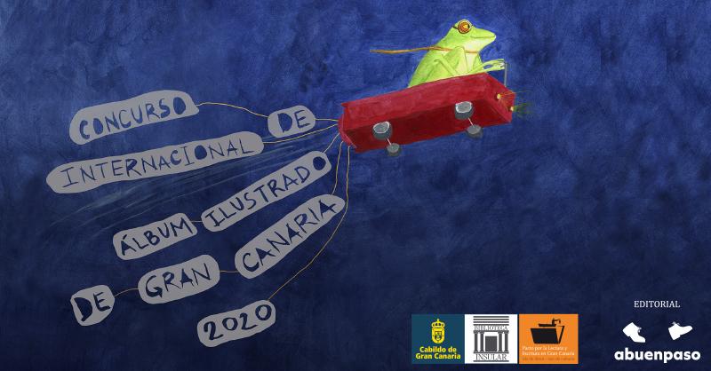Cartel Concurso Álbum Ilustrado Gran Canaria