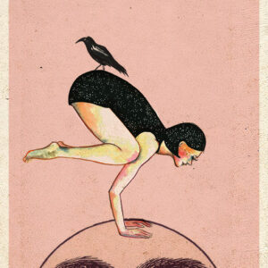 Ilustración Yoga