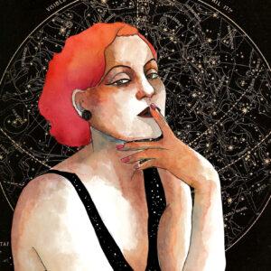 Ilustración mujer